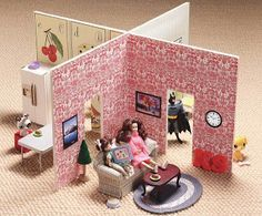Were you obsessed with doll houses when you were little, like I was? Most of my childhood was spent coordinating Barbie and Ken's outfits and rearranging their furniture. My mom made us a beautiful wooden doll house for Christmas one year that reminds me a lot of this easy and cheap doll house that I …