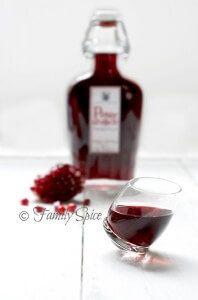 Pomegranate Tequila