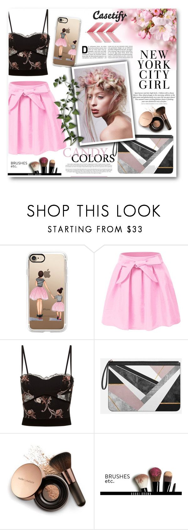 """""""Casetify 5"""" by tanja133 ❤ liked on Polyvore featuring Casetify, La Perla, H&M, Nude by Nature and Bobbi Brown Cosmetics"""