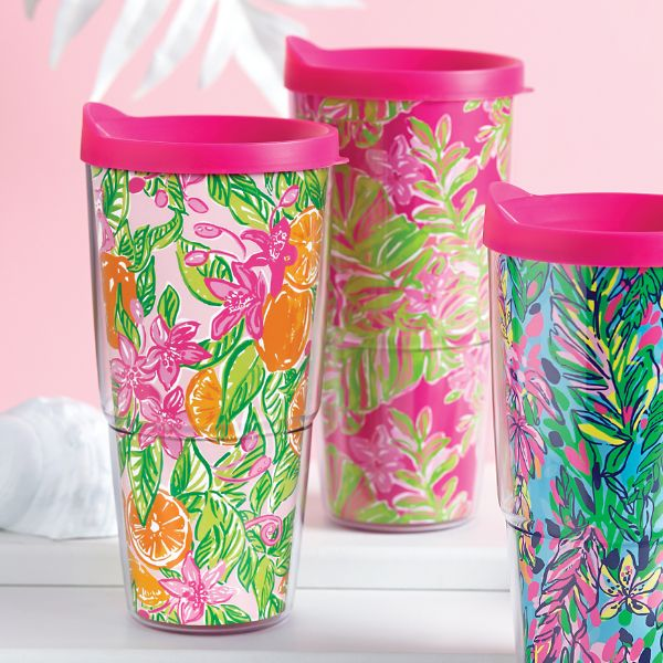 Lilly INSULATED TUMBLER WITH LID - Peelin' Out