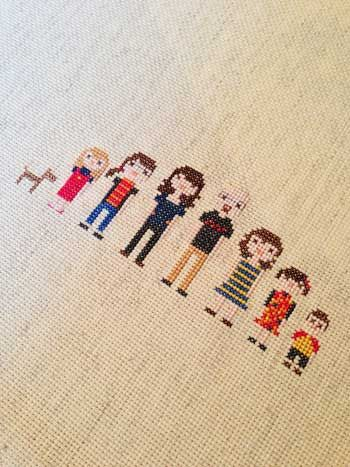 Family Cross-Stitch | Storypiece.net