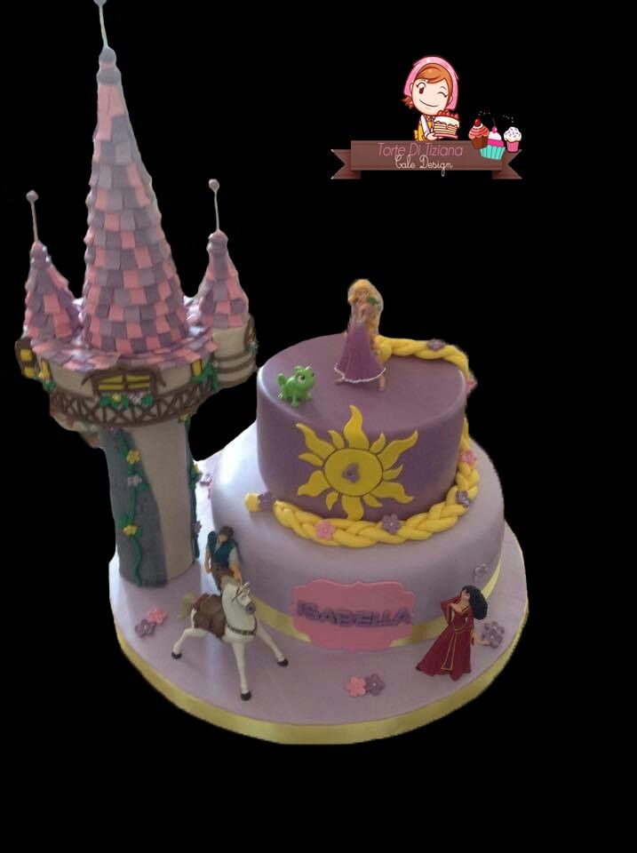 Torta rapunzel e la torre