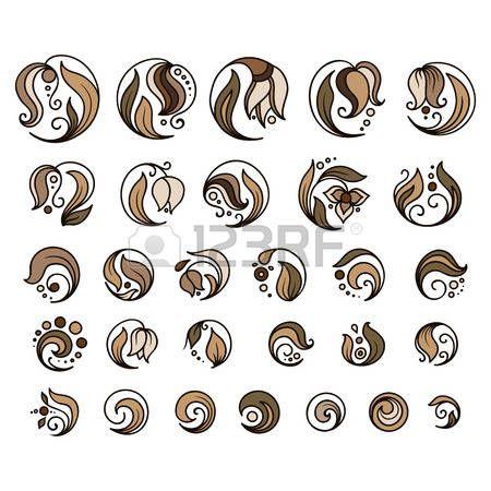 цветочные Пейсли: Элементы татуировки хной вектор каракули на белом фоне
