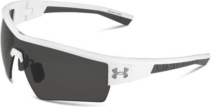 Under Armour FIRE Sunglasses $100 The FIRE sunglasses are lightweight yet durable and designed to go the distance with ArmourSight® lenses to enhance vision, a titanium Grilamid ArmourFusion™ frame and co-molded rubber temples for a firm, comfortable fit with your go-to hat. #underarmour #baseball #sportssunglasses #apexbysgh #apexmoments