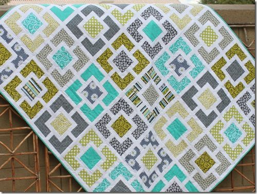 Garden Fence quilt by Maniacal Material Girls