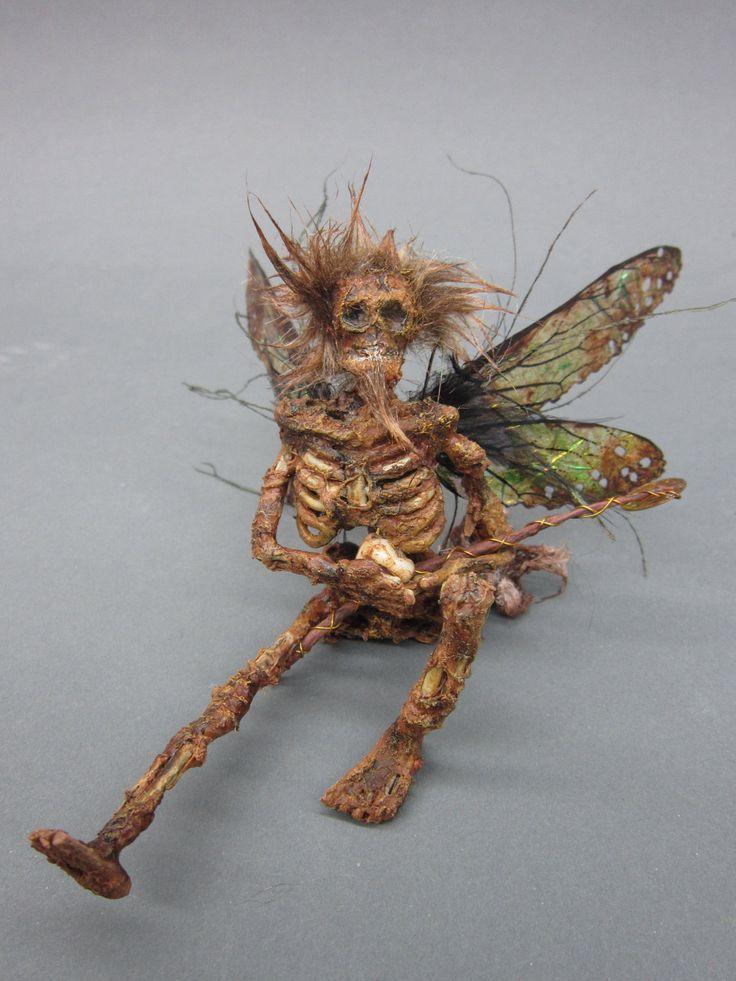 Ooak Realistic Male Dead Tooth Fairy Guy Fantasy Fairy