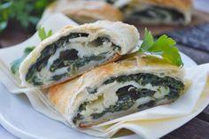 Vegetarischer mediterraner Strudel, der nicht nur bei Kindern sehr beliebt ist. Ein magisches Rezept.
