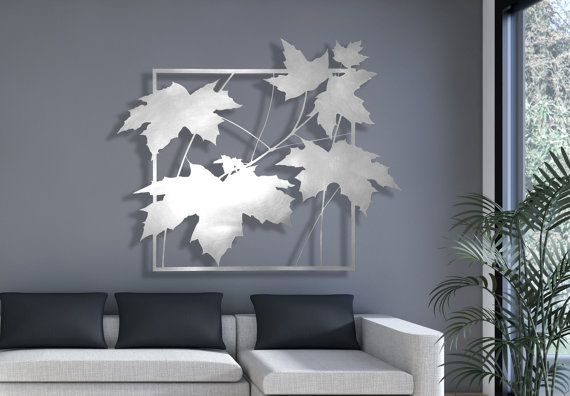 Laser Cut Metal Decorative Wall Art Panel Sculpture by DMPanels