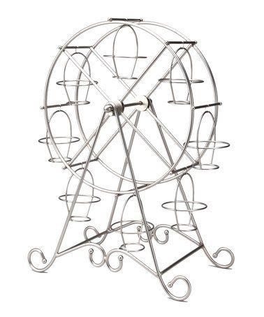 Another great find on #zulily! Silver Ferris Wheel Cupcake Holder #zulilyfinds