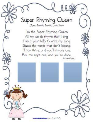 The Rhyming Queen!