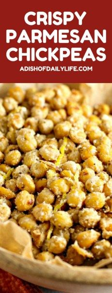 If you are looking for an easy-to-make healthy and delicious snack recipe, you have to try these Crispy Parmesan Chickpeas! Rich in nutrients…