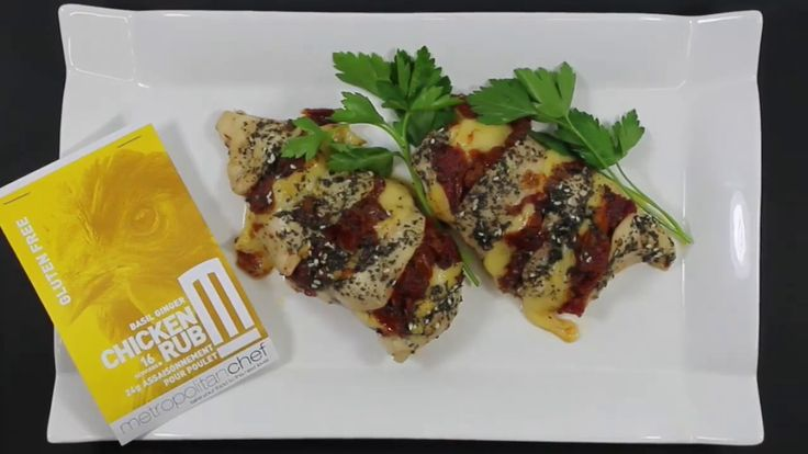 METROPOLITAN CHEF PRESENTS STUFFED CHICKEN WITH OUR BASIL GINGER CHICKEN...