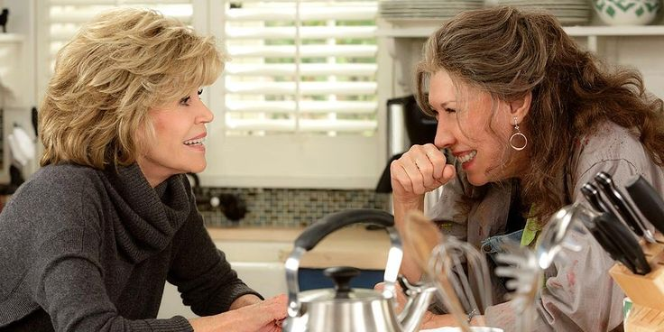 "15. ""Grace and Frankie"" — 81%"