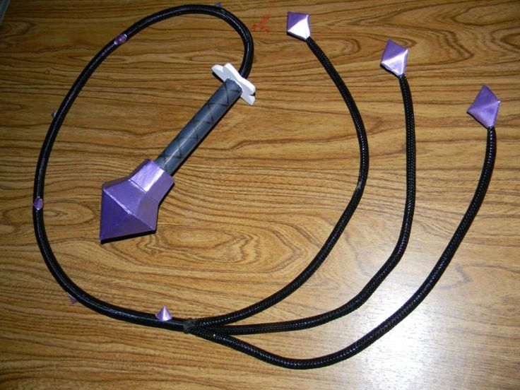 Amethyst whip :Finished product look. ((This would require an Indiana Jones Whip base, w/ an add on of some kind. It's more of an art PROJECT. I want good quality but if Supplies for it were bought I'd create it to my personal liking :)