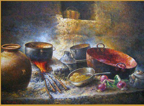 Gastronomia en la antiguedad