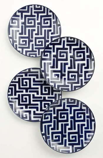 Perfect for the walls! Vagabond Vintage 'Moroccan' Plates (Set of 4) available at #Nordstrom