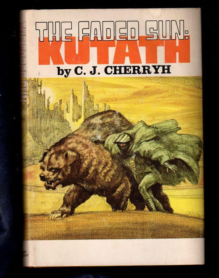 The Faded Sun Kutath by C. J. Cherryh  classic science fiction book