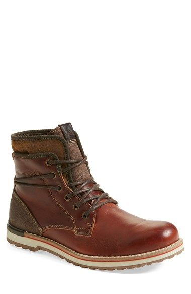 Free shipping and returns on ALDO 'Popak' Plain Toe Boot (Men) at Nordstrom.com. Beefy leather shapes a ruggedly styled boot trimmed with touches of weathered suede.