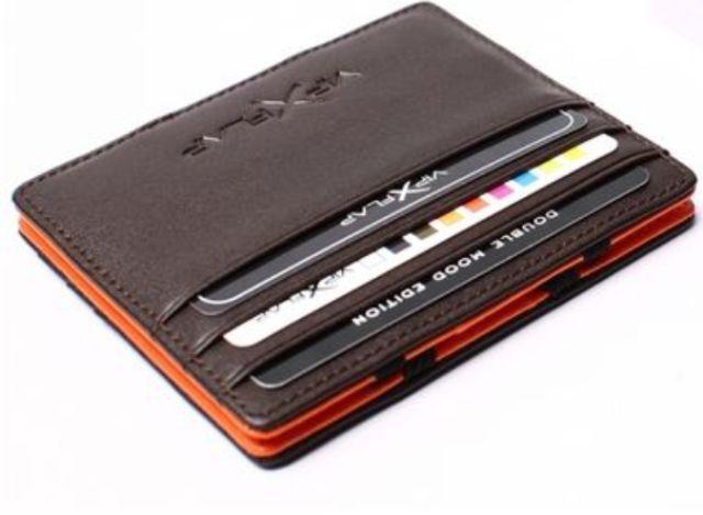 Vip Flap Portafoglio Porta Carte in Pelle Linea Double Mood Edition + Colori