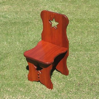 Kid's Colonial Chair Woodworking Plan by Dave