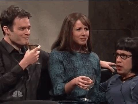 Bill, keep it together. | This Supercut Of SNL Actors Breaking Character Is Amazing