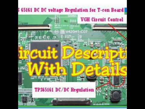 LCD LED TV Panel Troubleshooting and Bypass