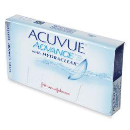 Soczewki oferujące wyjątkowy komfort przez cały długi dzień. ACUVUE® ADVANCE™ zawierają HYDRACLEAR™ który jest unikalnym wewnętrznym składnikiem nawilżającym, zawartym w materiale soczewki, który daje uczucie wyjątkowej miękkości i jedwabistości. Noś soczewki kontaktowe i ciesz się komfortem przez cały długi dzień. Materiał soczewki kontaktowej ACUVUE® ADVANCE™ wzbogacony jest wewnętrznym składnikiem nawilżającym HYDRACLEAR™.