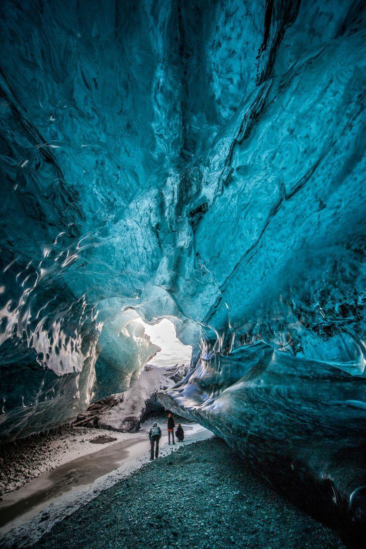 Cueva de hielo Vatnajokull #Islandia