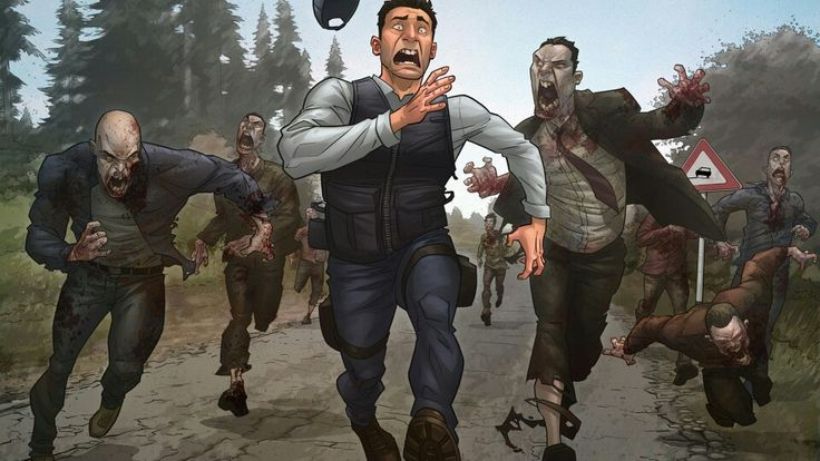 Fear of zombies