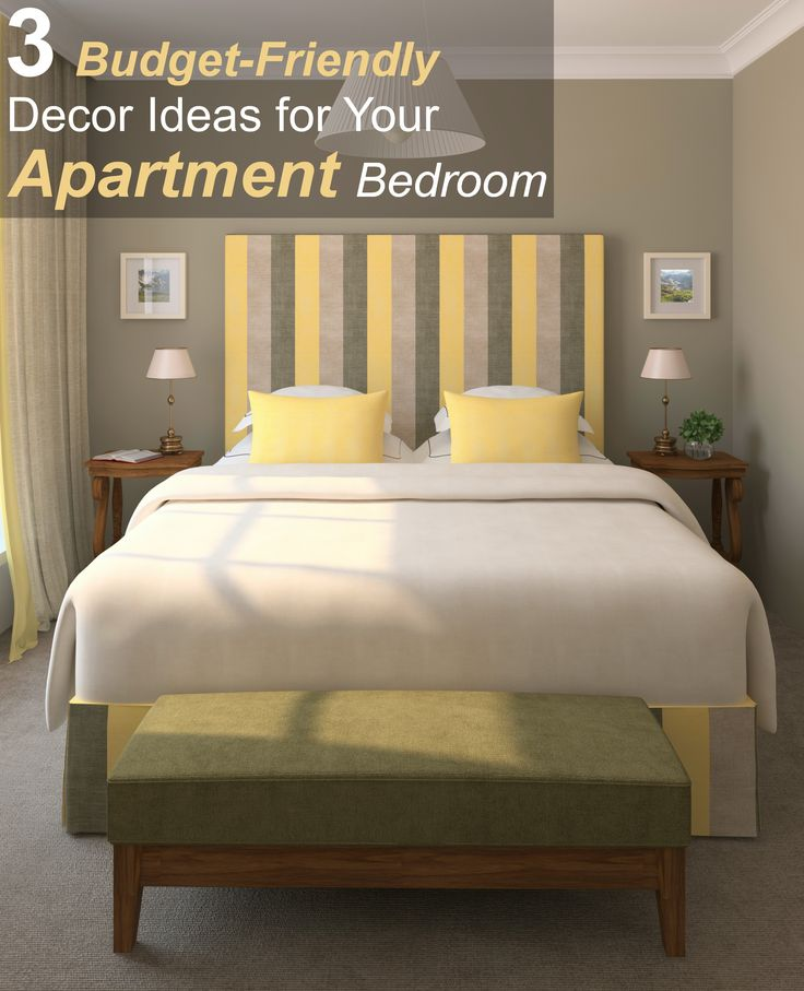 3 budget friendly d cor ideas for your apartment bedroom hogar y decoraci n - Bed room color for girls ...