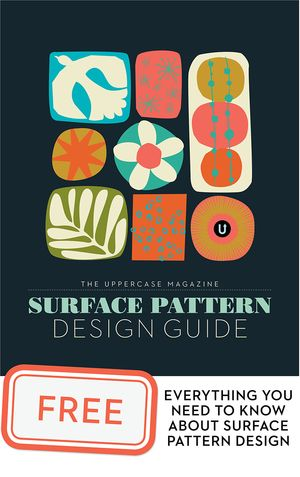 Colours and Emotions with Maria Carluccio — UPPERCASE { resources; surface pattern design guide }