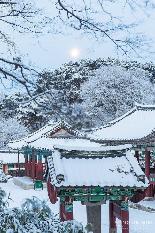 Shilleuksa Temple in Yeoju, Korea