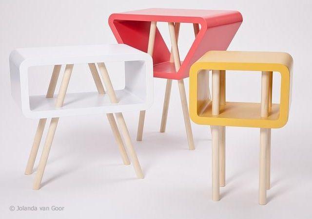 Open Minded table : a series of tables created by Dutch designer Jolanda van Goor.: Mind Tables, Side Tables, Jolanda Vans, Mind Series, Vans Goor, Ddesign Furniture, Products Design, Open Mind, Studios Jolanda