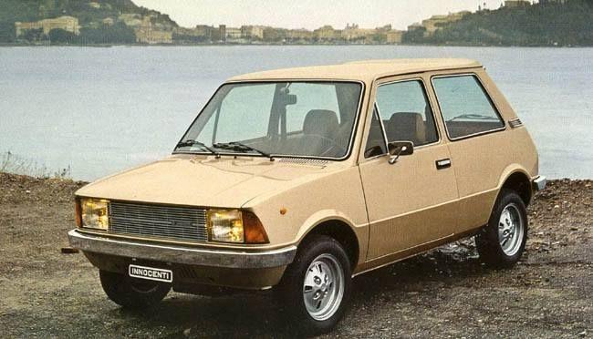 Innocenti Mini 120L Bertone Champagne Color #LPS #cars