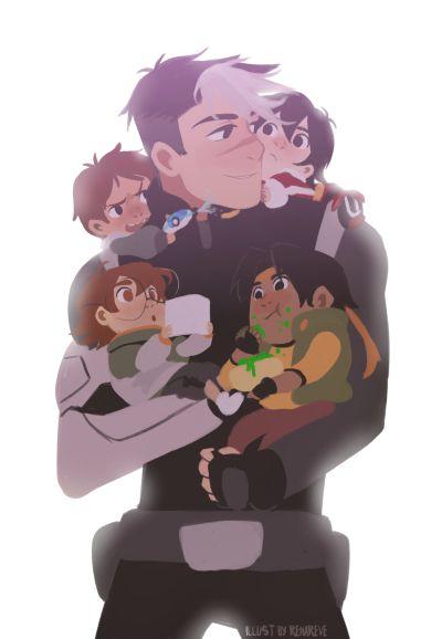 Voltron ✰ Legendary Defender #Cartoon Keith, Lance, Shiro, Pidge, Hunk