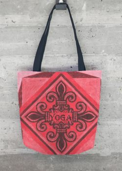 Popular Cheap Online Buy Cheap Recommend Tote Bag - Kay Duncan Yoga 2 003 by VIDA VIDA Amazing Price Cheap Original 0p3kvT