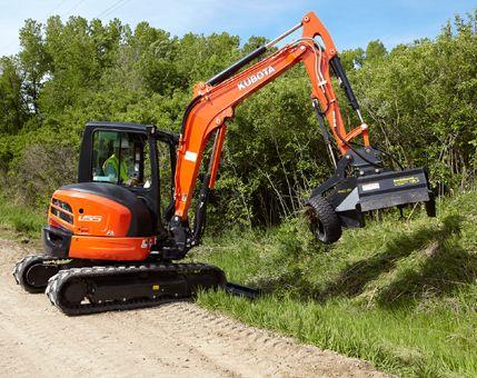 Kubota Tractor Corporation - Construction Equipment U55