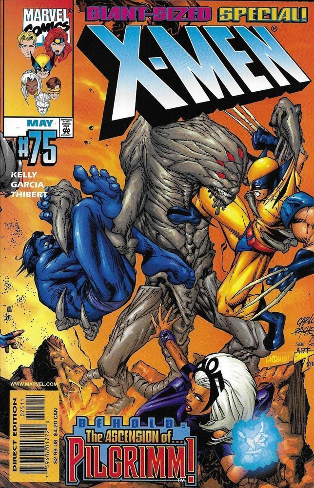 Marvel X Men Comic Issue 75 Marvel Comics Covers Marvel Drawings Comics