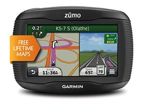 Garmin Zumo 350  Garmin Zumo 350 – Love, Passion, Intelligence that is the display model of Zumo 350 made by Garmin GPS navigation products. And that's even before you turn it on. Zumo 350 is sturdy and waterproof, and easy to use in any lighting conditions the screen remains clearly visible.