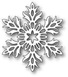 Poppystamps Laurette Snowflake Craft Die