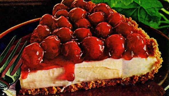 Cheery Cherry Cheese Pie Recipe Favorite Recipes Cherry Cream Cheese Pie Cheese Pies Cream Cheese Pie