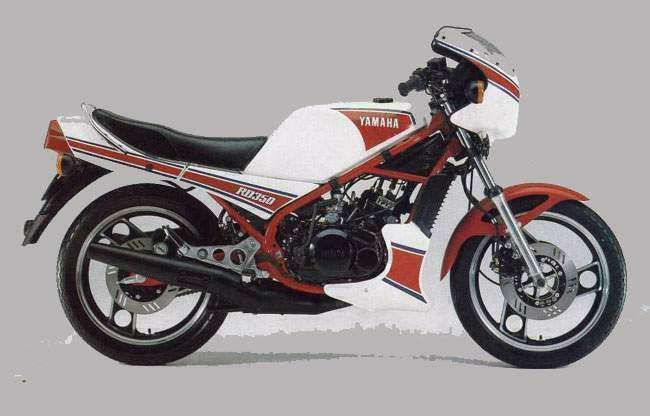 yamaha rd 350 1986 .this is exactly the bike I had when I was in std 9
