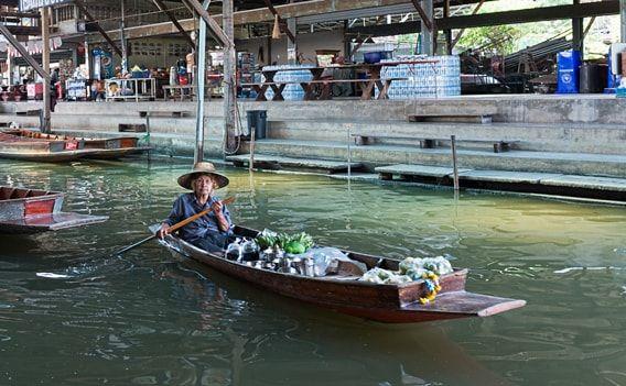 Schwimmende Märkte Bangkok: Tour auf eigene Faust | Infos