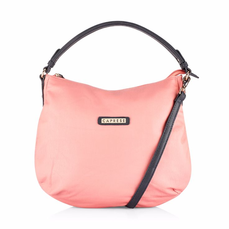 Caprese Lini Hobo  Featuring one main compartment with 1 external pocket and multiple compartments for keeping your essentials safe and handy, this hobo bag promises durability and easy maintenance too. Shop at AceBazaarin > https://acebazaar.in/product/caprese-lini-hobo-medium-peach/