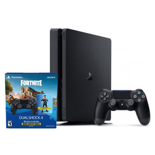 ad98eaba112c6 PlayStation 4 Slim 1TB + Extra PS4 Wireless Controller - Fornite Content  Bundle  VideoGames  Gaming  Gamers