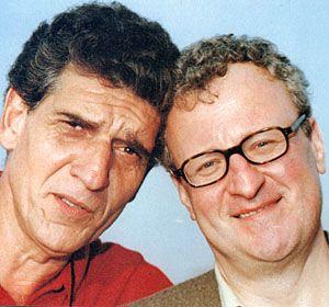 Ambassadors G'Kar and Londo Mollari (Andreas Katsulas and Peter Jurasik)