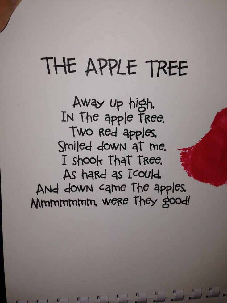apple songs preschool apple poem apple unit poem apples and songs 239