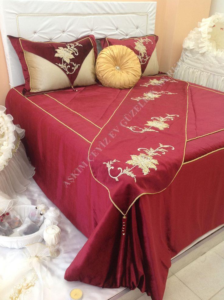 yatak örtüsü harem