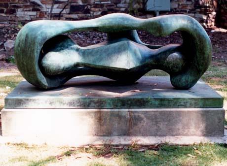 Sculpture in Adelaide Uni