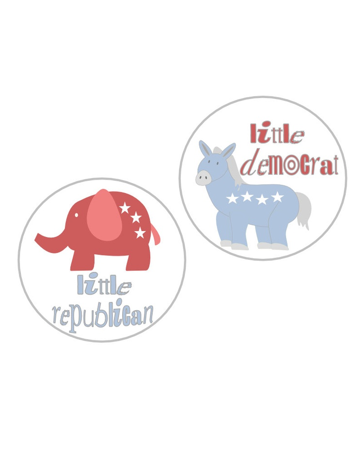 how to get free political stickers